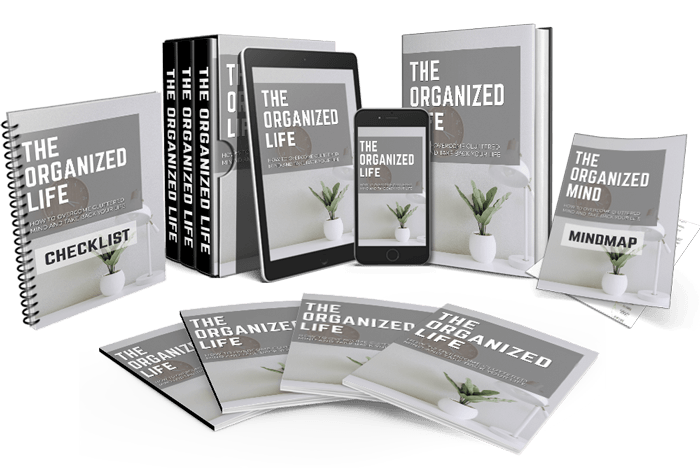 Organized Life   Overcome a Cluttered Mind and Take Back Your Life